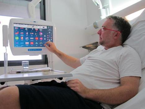Des tablettes multimédia au pied du lit : le CHR de Lille soigne ses patients | Scoops pour Club SIPS | Scoop.it