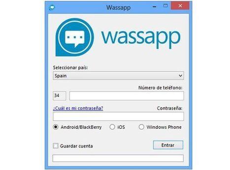 Wassapp, otra opción más para chatear en WhatsApp desde el PC | Recull diari | Scoop.it