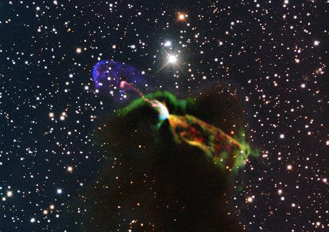 ALMA observe de très près la dramatique naissance d'une étoile   Tout est relatant   Scoop.it