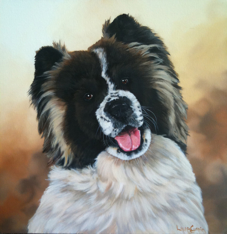 How to paint... a Dog | Wildlife Artist Laura Curtin | Good News for Artists | Scoop.it