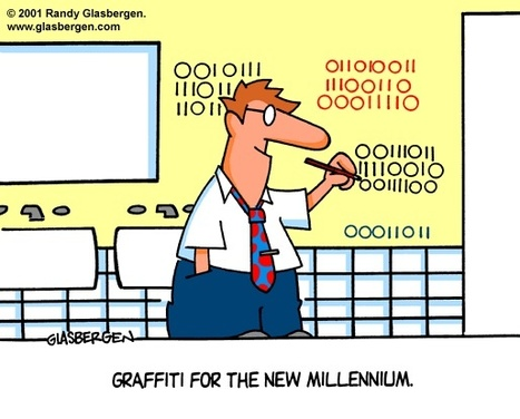 Graffiti - by Randy Glasbergen | fun for geeks | Scoop.it