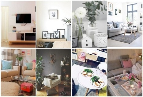 Instagram – inspiration déco pour le salon – Cocon de décoration: le blog | Décoration | Scoop.it