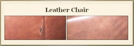 Care to be taken for Reducing the Leather Repair Costs | Furniture Repair | Scoop.it