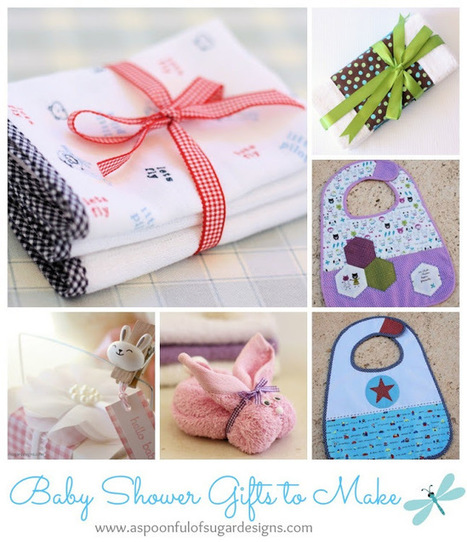 Baby Shower Gifts to Make | A Spoonful of Sugar | Baby Shower Planning | Scoop.it