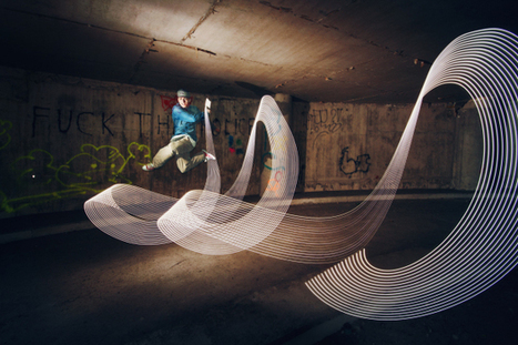 Beautiful Light Painting Photos Created With Dancers and Athletes - PetaPixel | Art, photography and painting | Scoop.it