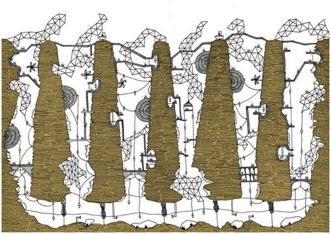 Italo Calvino's 'Invisible Cities', Illustrated | URBANmedias | Scoop.it