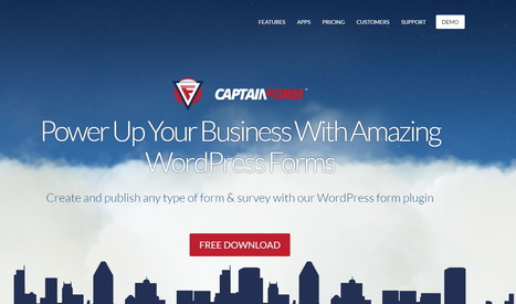 CaptainForm pour vos formulaires WordPress | WordPress France | Scoop.it