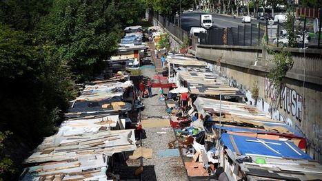 À Paris, les Roms veulent troquer leur bidonville contre des maisons mobiles | Immobilier | Scoop.it