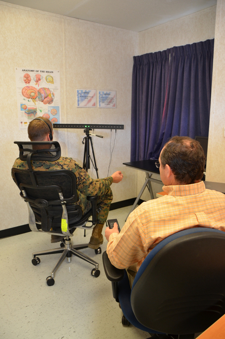 Touch, sound and light help heal inner wounds - Marine Corps Times   Surviving Trauma and Abuse   Scoop.it