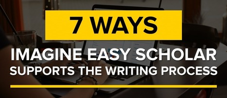 7 Ways Imagine Easy Scholar Supports the Writing Process | Imagine Easy Blog | Edtech | Scoop.it