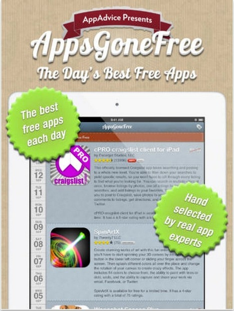 Two Excellent Resources to Find iPad Apps that Go Free ~ Educational Technology and Mobile Learning | Education | Scoop.it