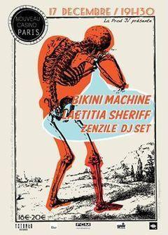 Concert Laetitia Sheriff & Bikini Machine @ Le Nouveau Casino, Paris - 17/12/14 - Yotankaprod | MANAGILE Consulting - Enneagram coach & trainings - certified by Helen Palmer school | Scoop.it