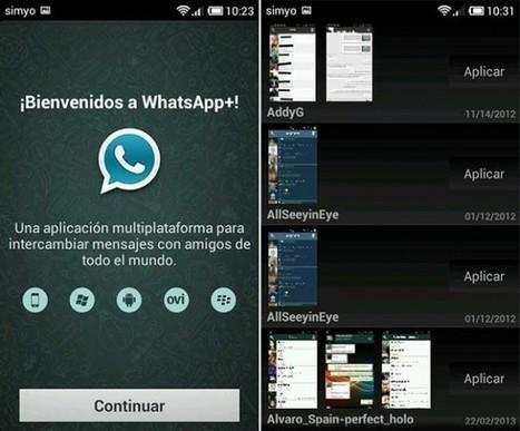 La copia de Whatsapp, potente entre las apps de mensajería instantánea — Cambio16 Diario Digital, periodismo de autor | Nuevas tecnologías y redes sociales | Scoop.it