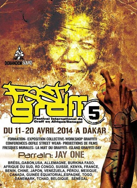 Festigraff 2014 - Dakar - Sénégal | My Africa is... | Scoop.it