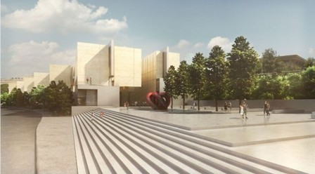 Jerusalem, Israel, National Library Competition Entry / Gil Even-Tsur | The Architecture of the City | Scoop.it
