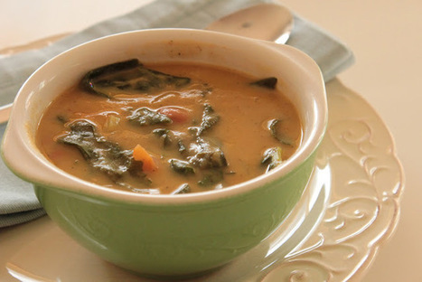 As Minhas Receitas: Sopa de Feijão com Folhas de Nabo | Foodies | Scoop.it