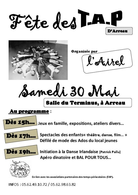Les Temps d'Activités Périscolaires fêtés à Arreau le 30 mai | Vallée d'Aure - Pyrénées | Scoop.it