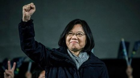 Taiwan's first female leader, shy but steely Tsai Ing-wen - BBC News | My Mosaic | Scoop.it