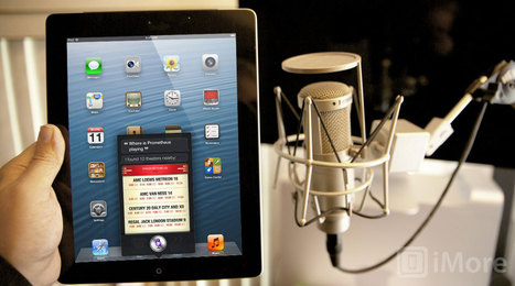 iOS 6 preview: Siri for iPad | iMore.com | Mac Users Boricuas | Scoop.it