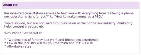 Help For Phone Sex Operators | Escorts | Scoop.it