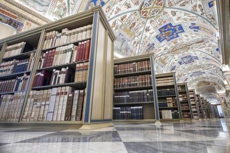 Fundación Ciencias de la Documentación's Facebook Wall: La #Biblioteca Vaticana, considerada uno de los fondos literarios más importantes del mundo: 1.500.000 de #libros impresos, 80.000 #manuscrit... | Educacion | Scoop.it