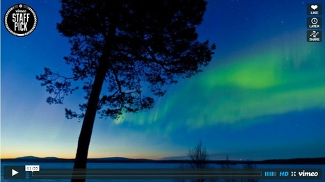 Auroras sobre Noruega en time-lapse   Imagen astronomía diaria - Observatorio   Mundo   Scoop.it