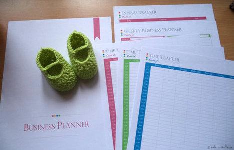 Business or Work at Home Planner Set, Single PDF with Divider Page, Business or work at home PDF Planner Pages, Instant Download | Blogging & Social Media | Scoop.it