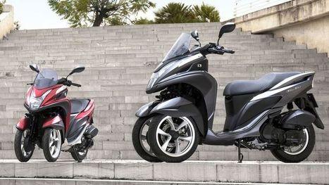 Yamaha et MBK : un scooter trois roues à moins de 4 000 euros - Le Figaro | NEWS actus Motorisés | Scoop.it