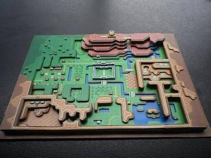 Classic NES Games In 3D Paper Dioramas | Linguagem da arte e as midias digitais | Scoop.it
