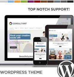 Top 20 Consulting / Coaching Website Templates and WordPress Themes | Web design and presentation | Scoop.it