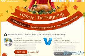 Offre promotionnelle : Wondershare Slideshow Builder Standard gratuit (spécial Thanksgiving 2012)  ! | Freewares | Scoop.it