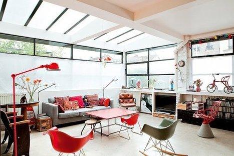 Un loft familial près de Paris | | PLANETE DECO a homes worldPLANETE DECO a homes world | Aménagement et décoration | Scoop.it