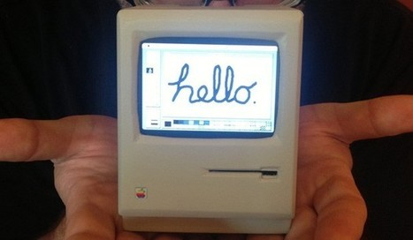 Mini classic Macintosh created with Raspberry Pi, runs System 6 (video) | Tech | Scoop.it