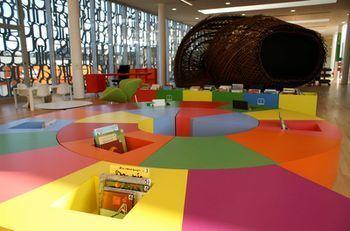 Médiathèque de Fougères- Prix Livres Hebdo 2012 de l'espace intérieur | Bibliothèques du futur | Scoop.it