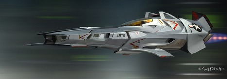 blast_01+racer+cruiser+space+ship+rocket+concept+us+army+airforce+stealth+air+craft+scott+robertson.jpg (1600x562 pixels) | armed forces1 | Scoop.it