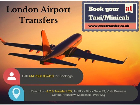 Airport Taxis Heathrow | Airport Transfers UK | Scoop.it