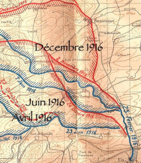 décembre 1916 JMO commenté du 28e RI à Verdun : | Racines de l'Art | Scoop.it