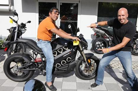 Congrats Dr. Gabriel on your new Brammo Empulse R! | Brammo Electric Motorcycles | Scoop.it