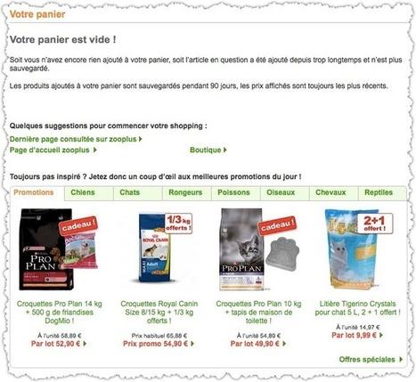 Page panier : le guide pour en créer une qui soit efficace ! - Le Droit de Réussir | E-marketing Topics | Scoop.it