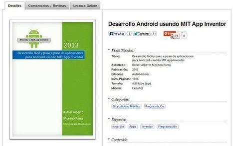 Ebook gratis para aprender a desarrollar apps con MIT App Inventor | NTICs en Educación | Scoop.it