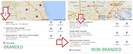 Brief change suggests local SEO ranking factors are different for branded queries | Digital Brand Marketing | Scoop.it