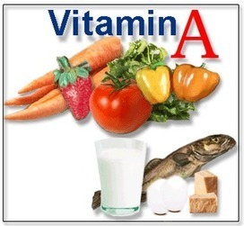 Groups of Food: Vitamin A | Importance, Sources and Deficiency Symptoms | Health and Fitness | Scoop.it