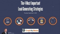 The 4 Most Important Lead Generating Strategies Today | Search Engine Optimization Tactics For Local Businesses | Scoop.it