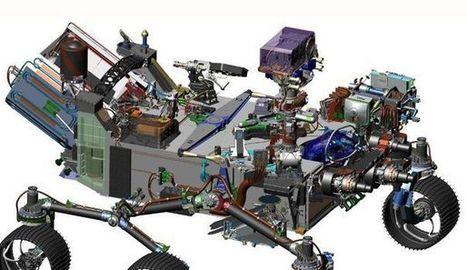 Mars 2020: le successeur du robot Curiosity annoncé par la Nasa | Post-Sapiens, les êtres technologiques | Scoop.it