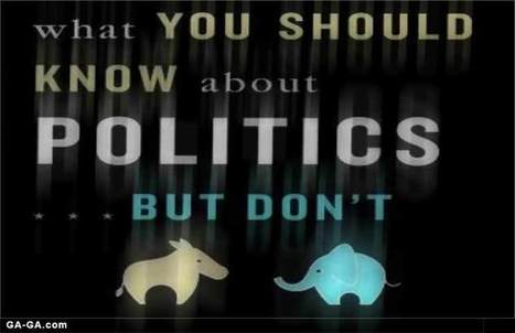Book Review: 'What You Don't Know About Politics' Would Fill a Book • Ga-Ga | Neotrope News Network | Scoop.it