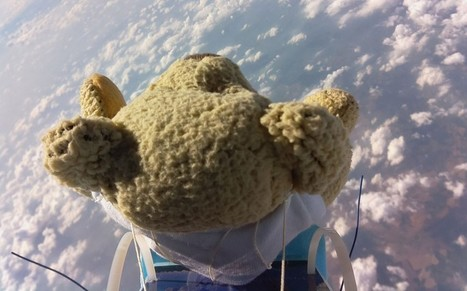 Teddy bear falls from space and beats Felix Baumgartner's skydiving record - Telegraph | Raspberry Pi | Scoop.it