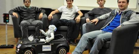 Montpellier : découvrez le premier robot capable de conduire | Une nouvelle civilisation de Robots | Scoop.it