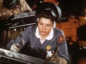 Website 2: American Women in World War II - World War II - HISTORY.com | Women on the home front | Scoop.it