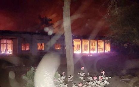EUA bombardeia um hospital afegão dos Médicos sem Fronteiras | Saif al Islam | Scoop.it