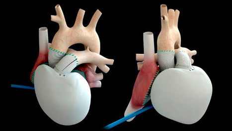 Space technology company builds a functioning artificial heart | Communication Arts | Scoop.it